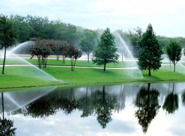 Commercial Irrigation Services NJ - High Tech Landscapes