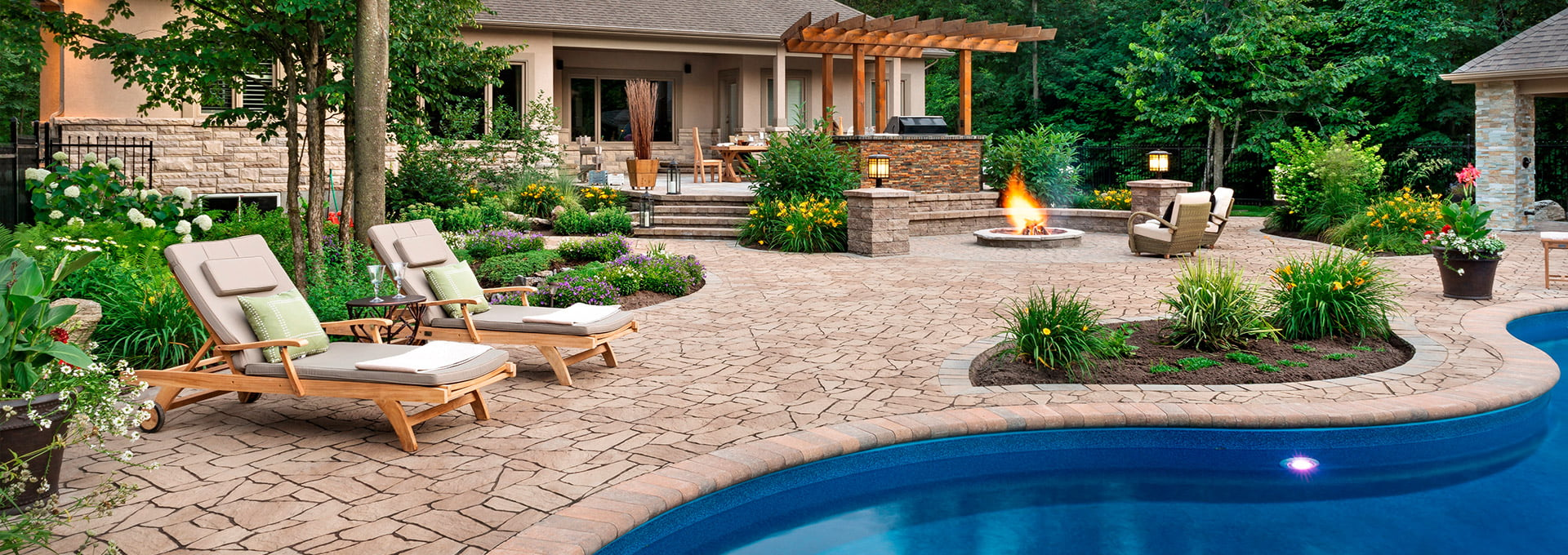 NJ Residential Landscape Design by High Tech Landscapes